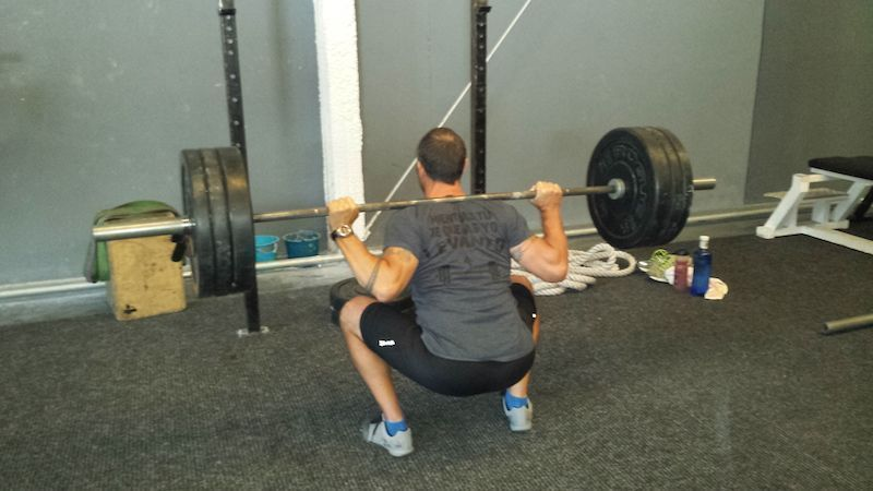 Back Squat Diego Sommariva
