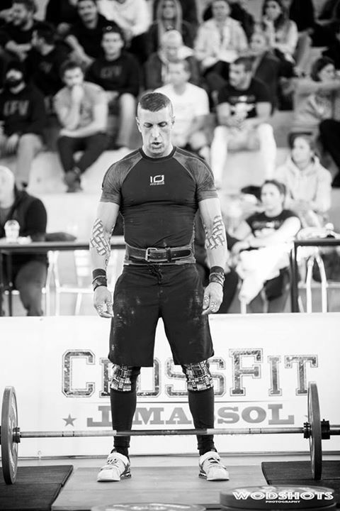 Antonio Alves wod trainning - Crossfit Masters